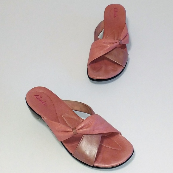 57c3d5f2410 Clarks Shoes - Clarks 2-Tone Soft Pink Leather 2